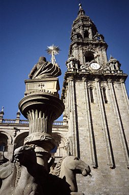 Santiago cathedral tower